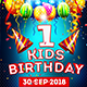 Kids Birthday Flyer - GraphicRiver Item for Sale