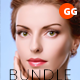 50+ Skin Retouch Photoshop Action Bundle