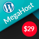 Hosting WordPress theme with WHMCS - MegaHost - ThemeForest Item for Sale