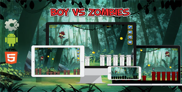 Boy vs Zombies            Nulled