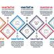 Modern Diagonal Square Infographics - GraphicRiver Item for Sale