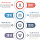 Modern Vertical Timeline Infographics - GraphicRiver Item for Sale