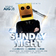 Sunday Night Party - GraphicRiver Item for Sale