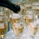 Waiter Pours Champagne on Glasses on Wedding - VideoHive Item for Sale