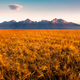 Beautiful landscape view of High Tatras mountains at sunrise, Slovakia - PhotoDune Item for Sale