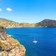 Yacht at the Lipari Island - PhotoDune Item for Sale