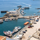 Aerial view of port in Lipari on Aeolian Islands - PhotoDune Item for Sale