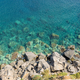 Top view of the rocky coast of Lipari Island - PhotoDune Item for Sale