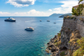 Ships at the coast of Lipari Island - PhotoDune Item for Sale