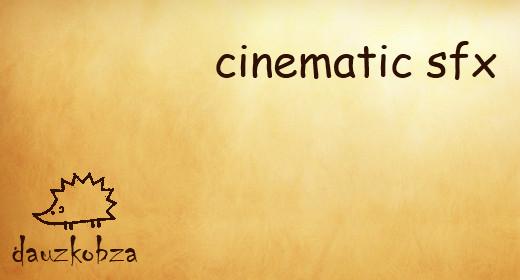 cinematic sfx
