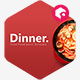 Dinner - Food Powerpoint Template - GraphicRiver Item for Sale