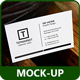 Business Card Realistic Mock-ups - GraphicRiver Item for Sale