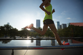 Running in sunrise city - PhotoDune Item for Sale