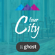 Free Download CityTour - Modern Blog for Ghost Nulled