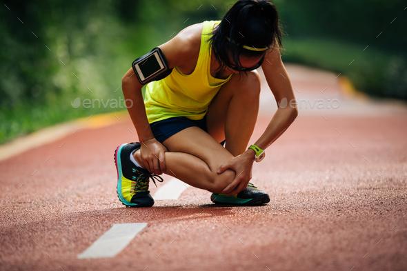 Sports injury - Stock Photo - Images