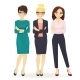 Three Elegant Business Women - GraphicRiver Item for Sale