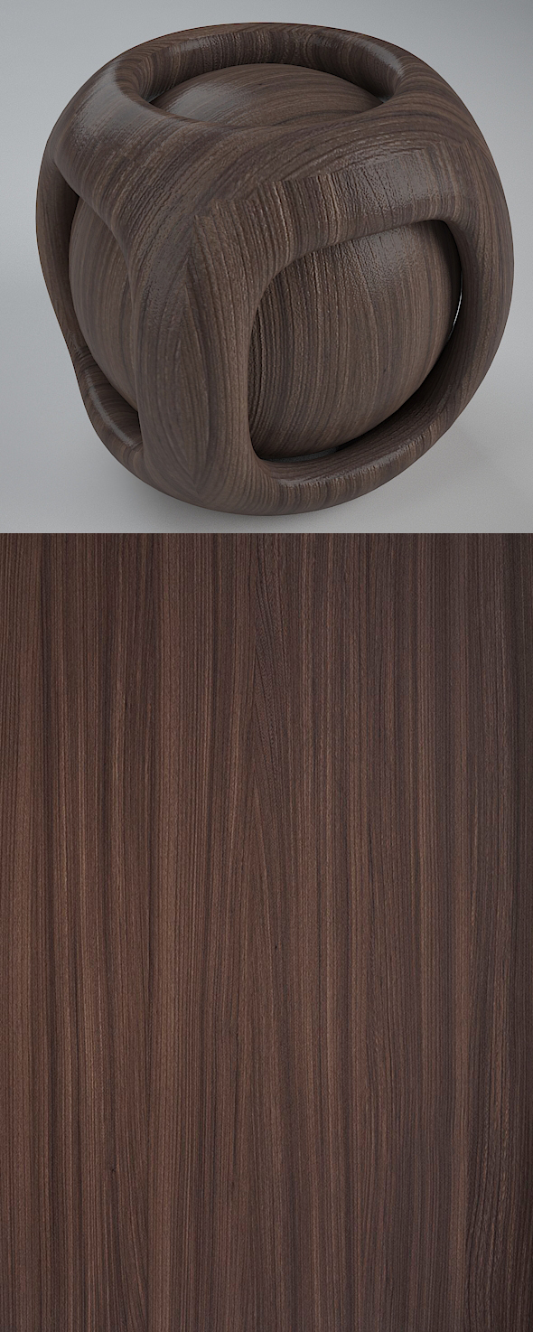 Real Plywood Vray Material Brown Kraftwood - 3DOcean Item for Sale