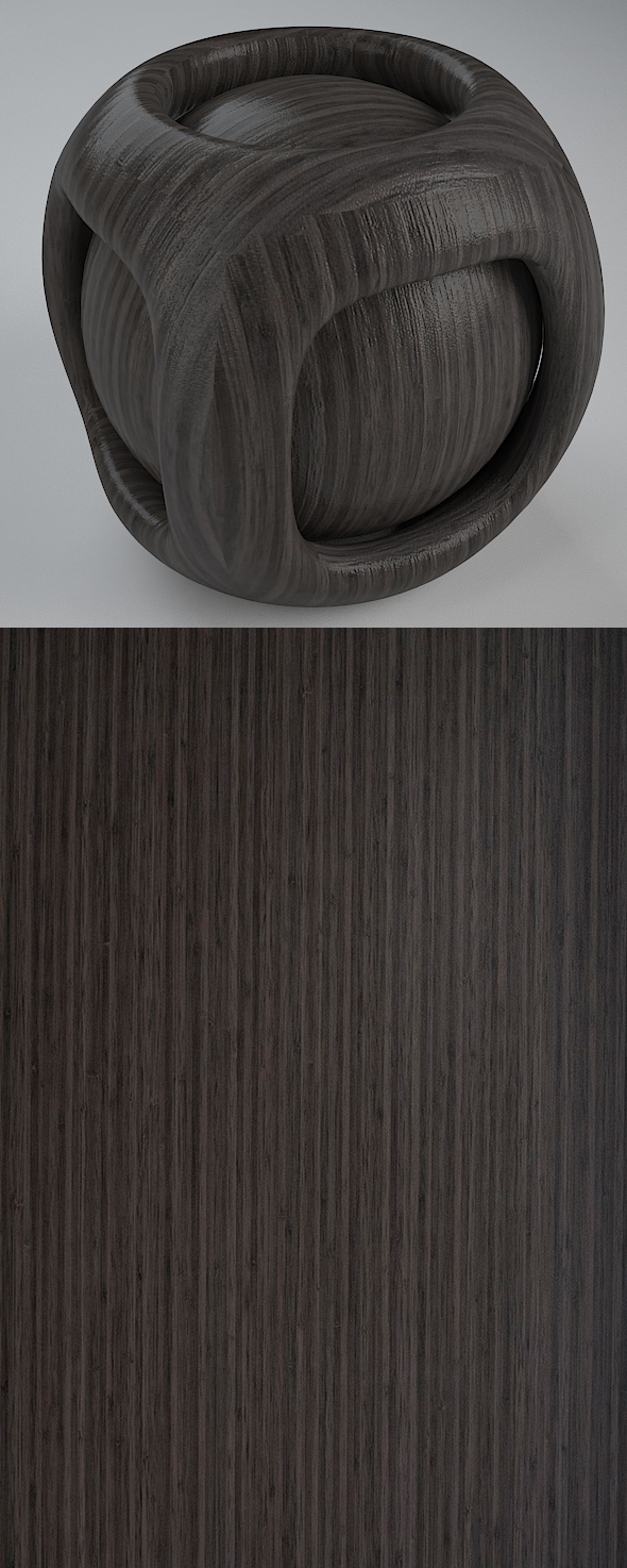 Real Plywood Vray Material Japanese Bamboo - 3DOcean Item for Sale