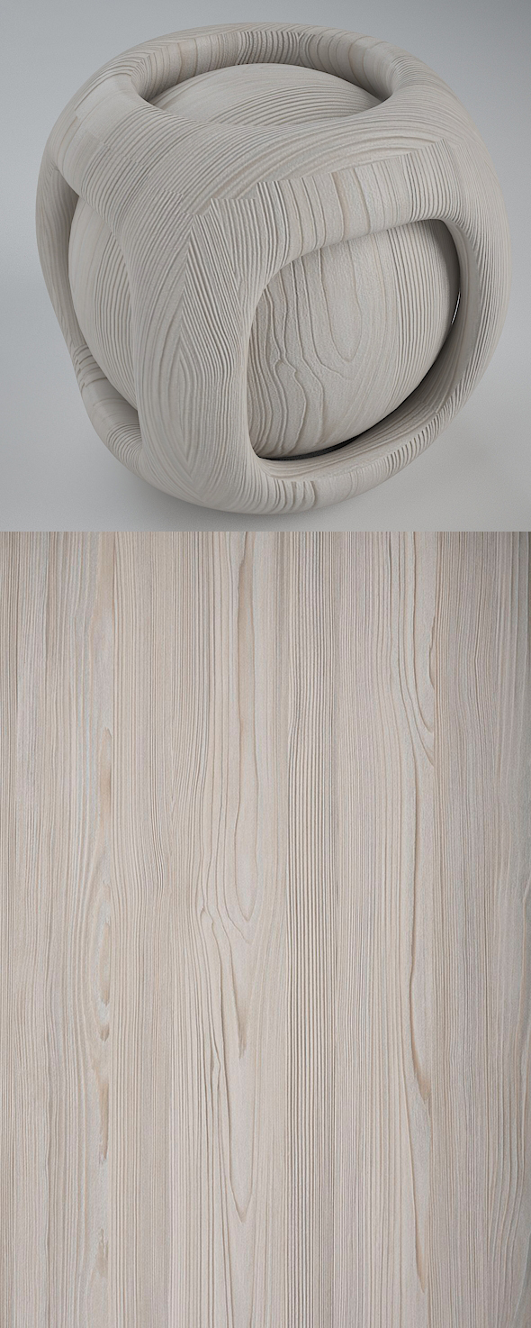Real Plywood Vray Material Serbian Pino - 3DOcean Item for Sale