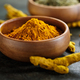 Turmeric in a bowl - PhotoDune Item for Sale