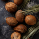 Coconuts on a dark background. - PhotoDune Item for Sale