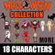 Halloween Characters Collection