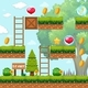 Game Template In Forest Scene - GraphicRiver Item for Sale