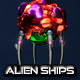 Alien Ship Pack - GraphicRiver Item for Sale