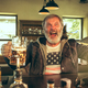The senior bearded male drinking beer in pub - PhotoDune Item for Sale