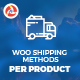 Woo Shipping Methods per Product - CodeCanyon Item for Sale