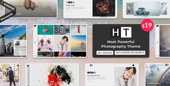 The Halftoon | Multipurpose Photography WordPress Theme