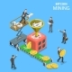 Isometric Vector Concept Illustration  - GraphicRiver Item for Sale
