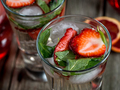 Strawberry mint cocktails - PhotoDune Item for Sale