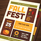 Fall Festival Flyer - GraphicRiver Item for Sale