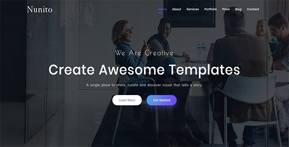 Nunito - Responsive Bootstrap 4 Landing Template by UI-ThemeZ