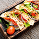 Vegetarian Pita Sandwich - PhotoDune Item for Sale