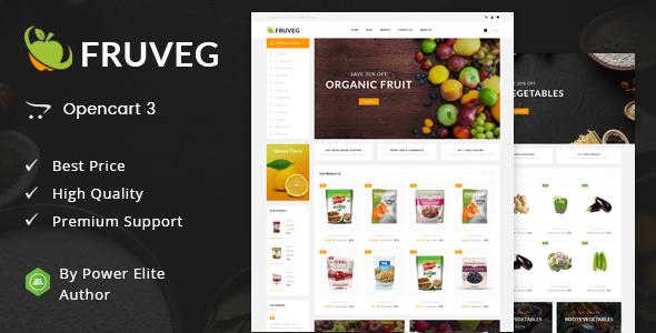 Fruveg - Responsive Opencart 3.0 Theme