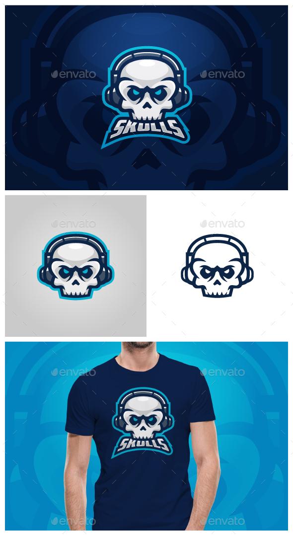 Skulls Logo - Objects Logo Templates