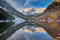 Maroon Bells and Maroon Lake landscape - PhotoDune Item for Sale