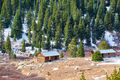Independence Ghost Town in Colorado mountains - PhotoDune Item for Sale