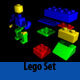 High Poly Lego set - 3DOcean Item for Sale