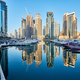 Dubai marina skyline in United Arab Emirates - PhotoDune Item for Sale