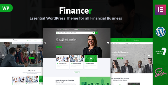 Image of Financer - Consulting Finance & Insurance WordPress Theme