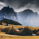 View over Seiser Alm meadow at autumn - PhotoDune Item for Sale