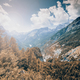 Sunny day in Julian Alps at fall - PhotoDune Item for Sale