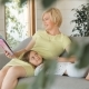 Mother Reads Book To Daughter - VideoHive Item for Sale