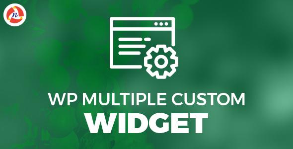 Wp Multiple Widget            Nulled