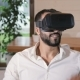 Man Enjoys Virtual World - VideoHive Item for Sale