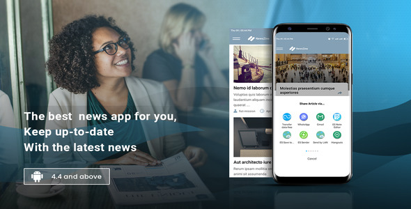 NewsZine - A complete News / Magazine App            Nulled