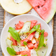 Salad with watermelon and melon - PhotoDune Item for Sale